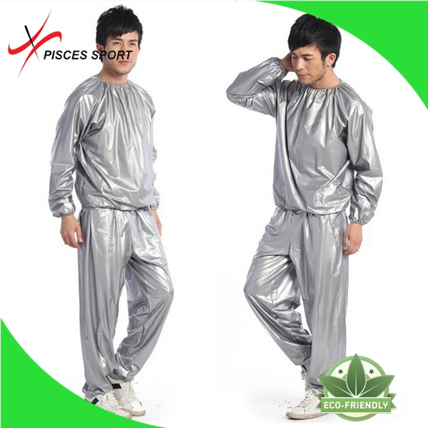 Plastic pvc suit made in China