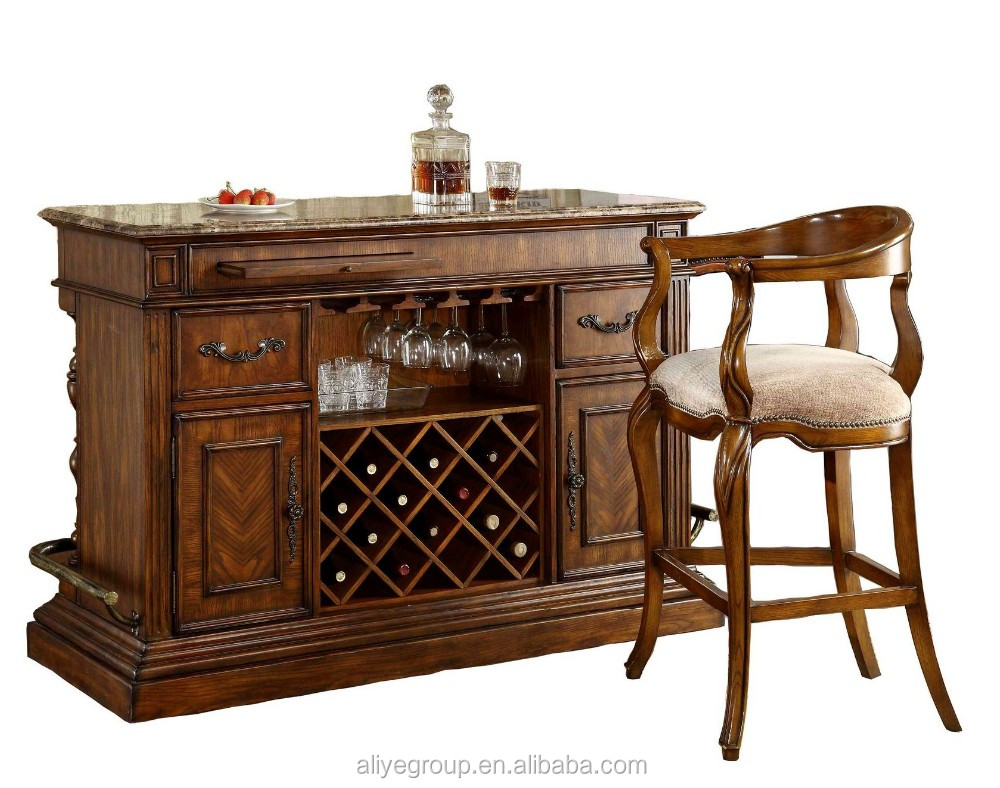 8019a 31 wholesale solid wood furniture used home bar furniture dubai buy used home bar Home pub bar furniture