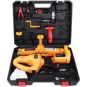 High Quality 3 Tons Electric Car Scissor Jack of SUV Model and Electric Wrench Quick Repair Tools Set