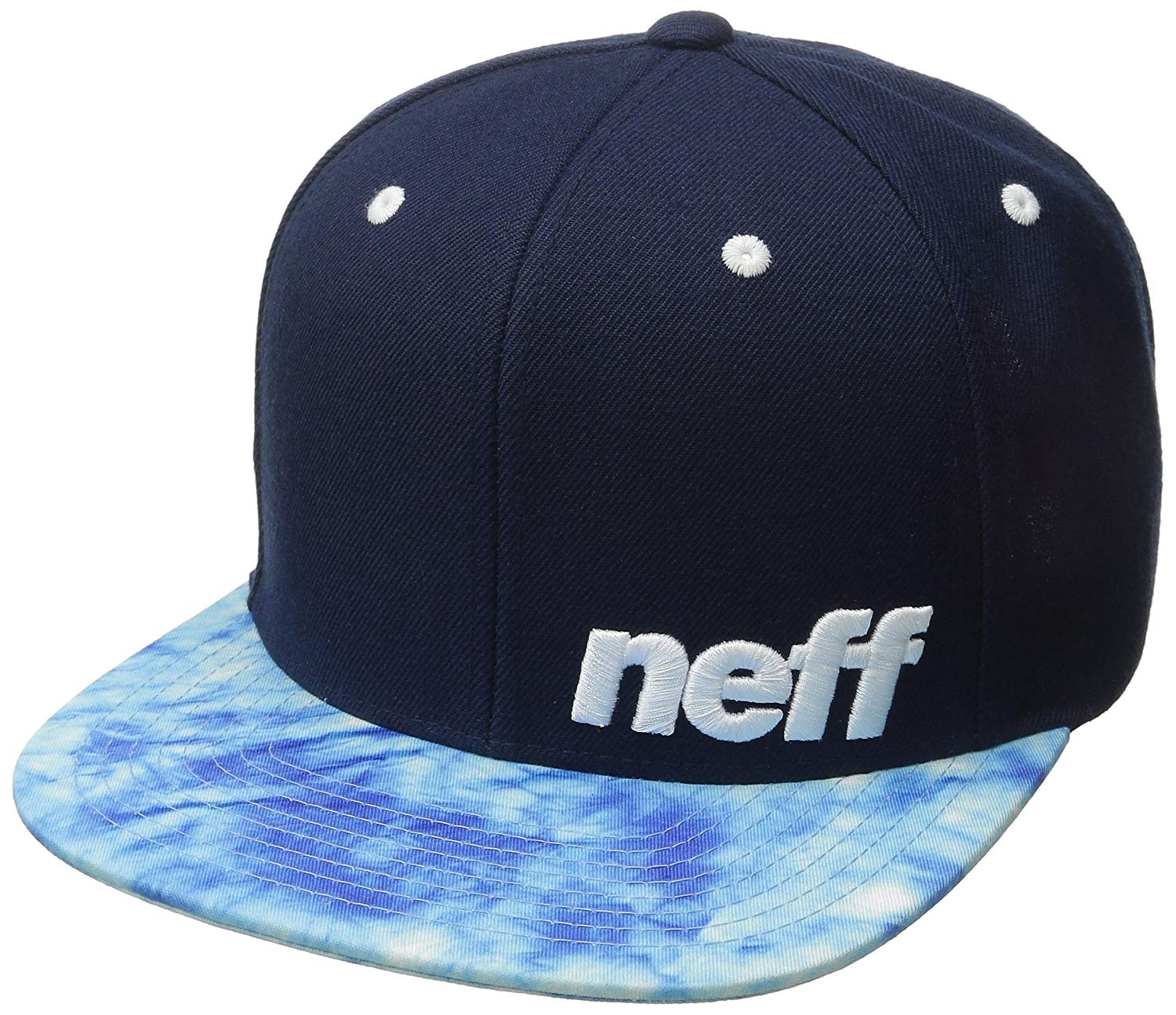 Get Quotations · NEFF Daily Pattern Snapback Hats – Custom Fitted Hats    Baseball Caps – Adjustable Flat Bill 35146a0d55c