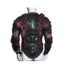 New Motorcycle Jacket Body Armor Red Motorcycle Armor Jacket Body Protective Armour Motocross Gear