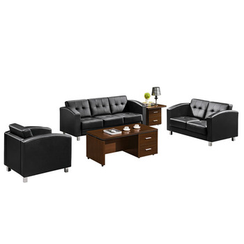 Commercial furniture economy series office sofa set design, View office  sofa design, CHUANGFAN Product Details from Guangzhou Chuangfan Office ...