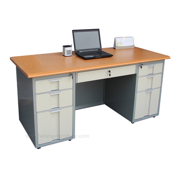 Hot sale factory direct steel computer desk metal table for office