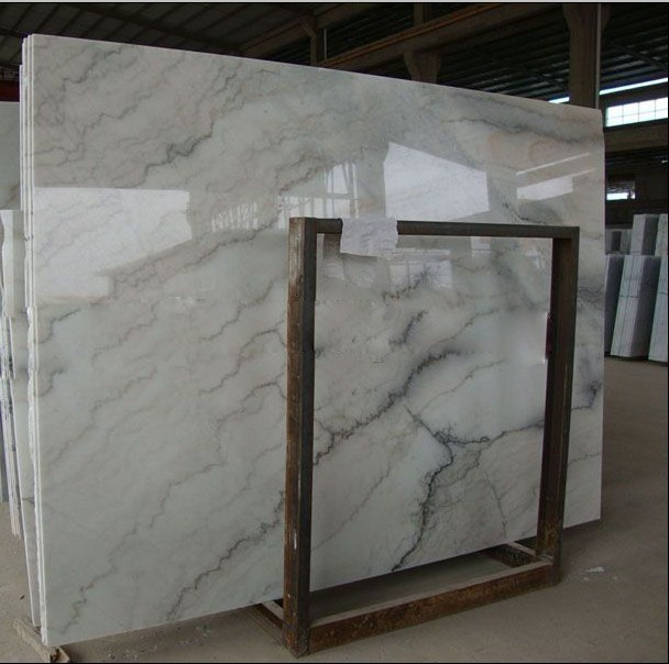 Hot Sale Floor Tiles Chinese Guangxi White Marble <strong><span style=