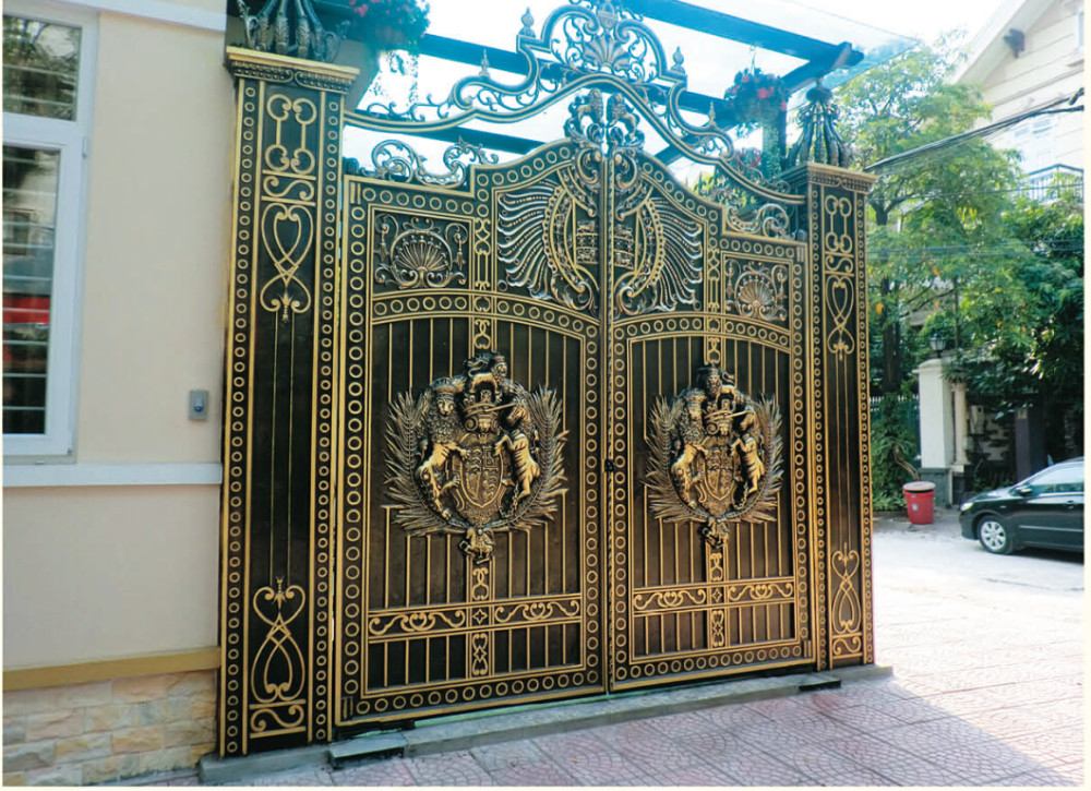 Yishujia Lasted Modern Wrought Aluminum Gate Designs,Used Indian ...