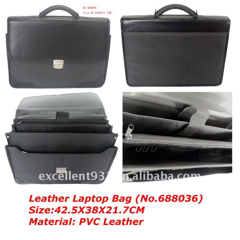 No.688036 Leather Laptop bag