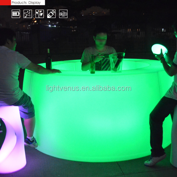 2015 out door LED furniture/ bar LED furniture/ night club LED furniture