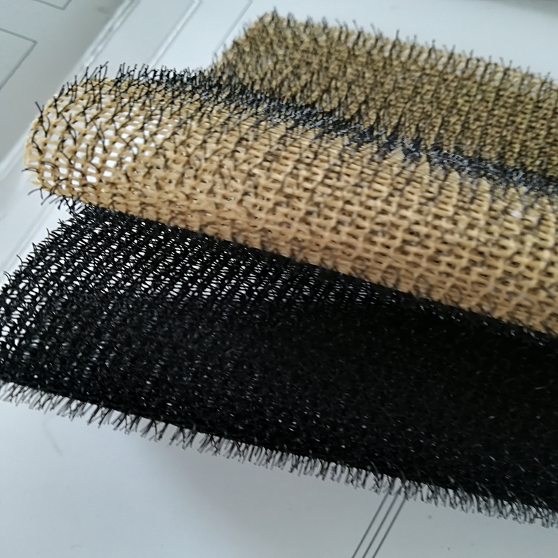 polyester anti-slip car mat material in rolls, 3D mesh fabric for car carpet mat