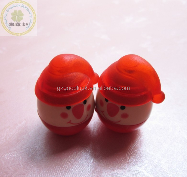 Kid funny egg shape tumbler toy stamps/Eco friendly egg shape tumbler toy stampers
