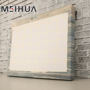 Factory supply large magnetic art dry erase digital memo board for office