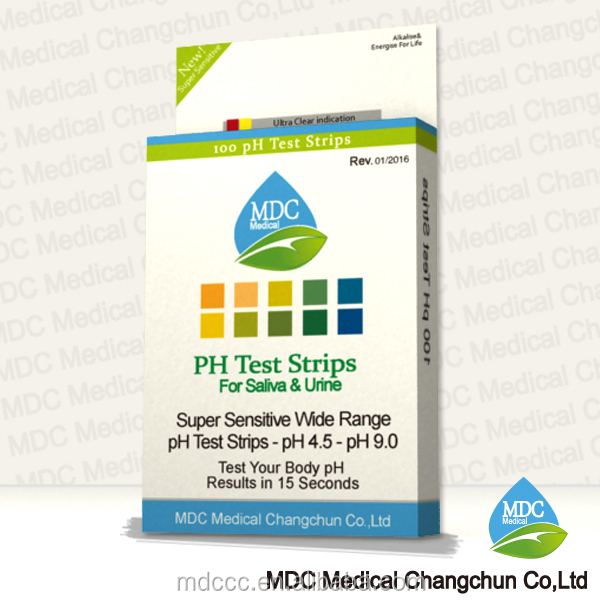 MDC dry pH strips,dry chemical pH test strips/paper