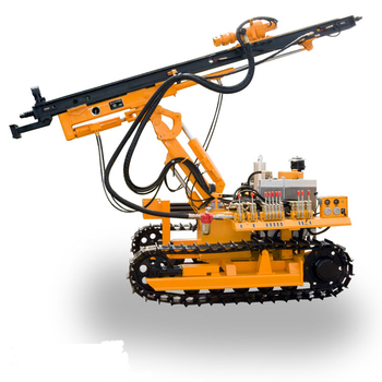 Chinese supplier Hongwuhuan crawler rock mining drilling rig for sale