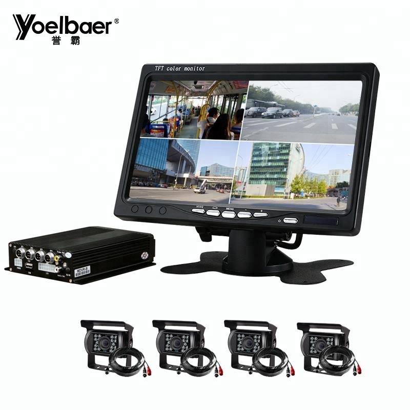 4CH 720P Mobile <strong>DVR</strong> Support 3G 4G WiFi GPS MDVR with Car/Bus/Truck/Vehicles Camera Recorder Waterproof