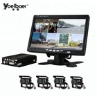 4CH 720P Mobile DVR Support 3G 4G WiFi GPS MDVR with Car/Bus/Truck/Vehicles Camera Recorder Waterproof