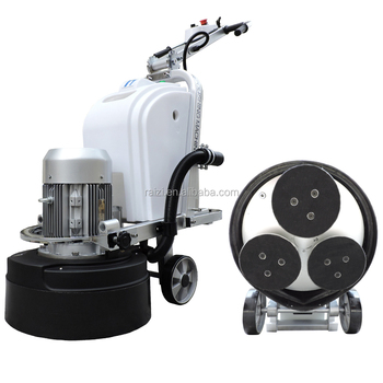 Rz550 T7 3 Head Planetary Concrete Floor Grinder Buy Planetary Floor Grinder Terrazzo Floor Grinder Concrete Grinder Product On Alibaba Com