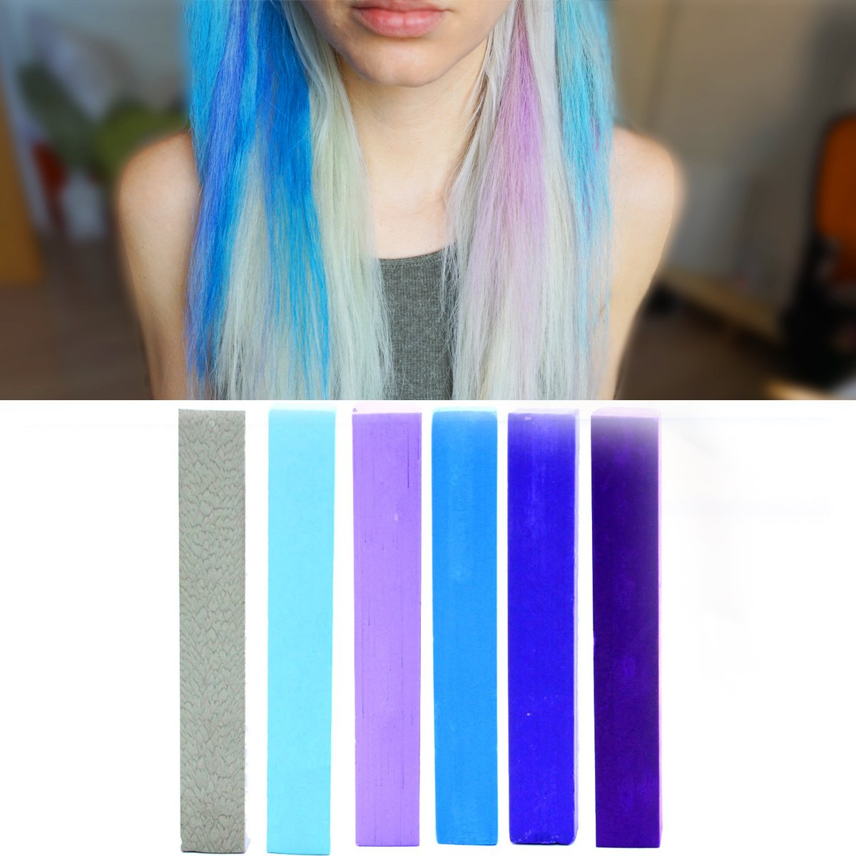 Buy Ultimate Blue Miley Cyrus Ombre Hair Dye Set 6 Shades Of Blue