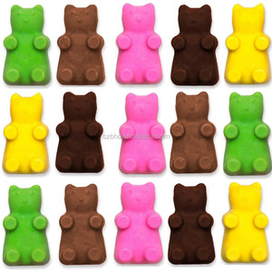 Silicone Gummy Bear Candy unique Chocolate Mold With a Bonus Dropper Making Cute Gift For Your Kids