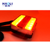Factory direct tail lamp custom voltage 15 led double color rear light trailer