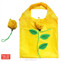 China new design cheap personalized polyester reusable tote bag for promotion