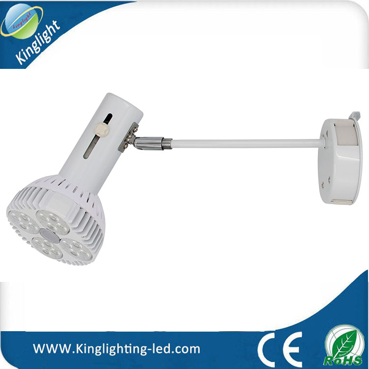 LED Par 30 Long Neck Recessed Lighting, Spot Light, Beam Angle 45 Degree 40W LED Warm White PAR30 Spotlight E27 Project Light