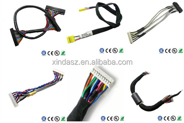 lcd lvds cable lcd flex cable for hp g60 cq60 lcd cable