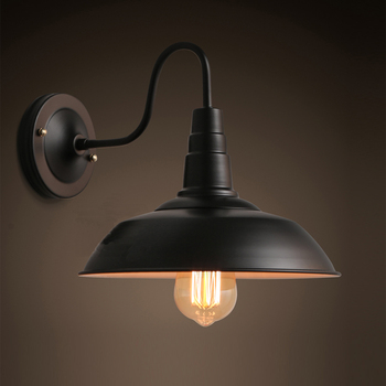 Classic Style Industry Loft Iron Art Wall Light