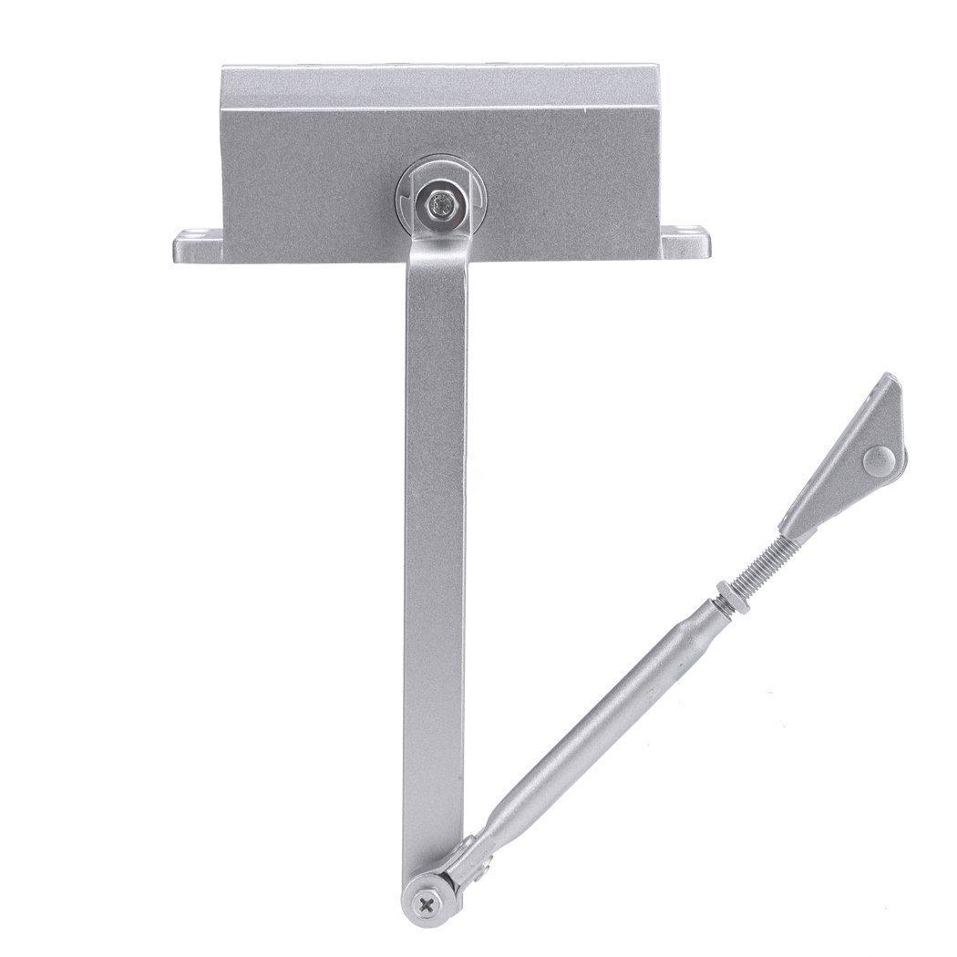 45-65 kg Door Closer - TOOGOO(R) 99-143 lbs (45-65 kg) Commercial Door Closer Silver Door Closer Latching