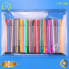 Promotion Use Transparent PVC Material Zippered School Pencil Case For Teenagers