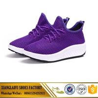China factory cheap women mesh shoes ladies casual shoes