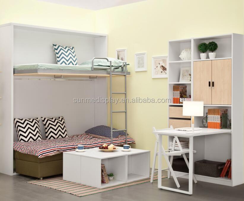 Etagenbett Mit Sofafunktion : Einzelwand bett verstecktes wandbett etagenbett mit sofa mk