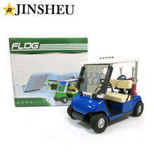 Wholesale Promotional Mini Small Golf Buggy Cart Desk Digital Clock