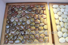 red pebble tile, tiger skin,tile made of river rock