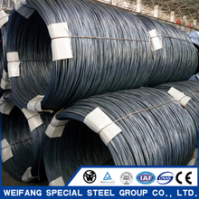 Hot Rolled Spring Steel Wire Rod Coil 65Mn