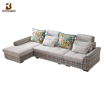 Modern Contemporary Lounge Suite Fabric Sofas And Sofa Bed For