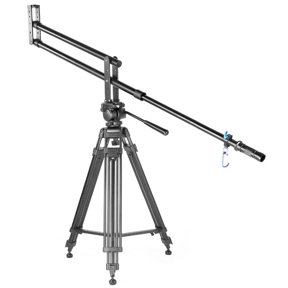 YELANGU Alüminyum Alaşım DSLR Kamera için 2 M J1 Kamera Vinç Pergel