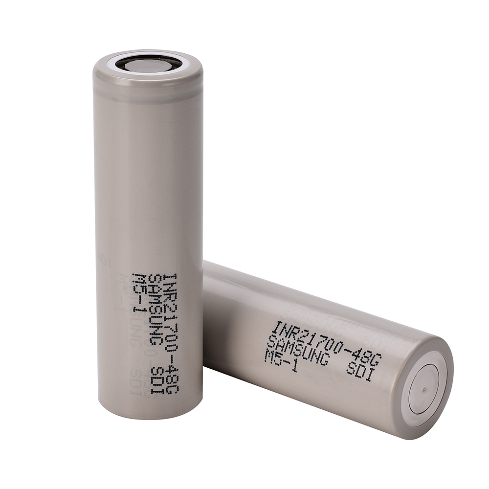 INR21700-48G 10A 20700 4800mAh Flat Top Rechargeable Li-ion Battery for Vape Mods