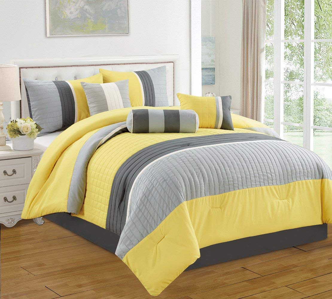 Cheap Yellow Grey Comforter Find Yellow Grey Comforter Deals On