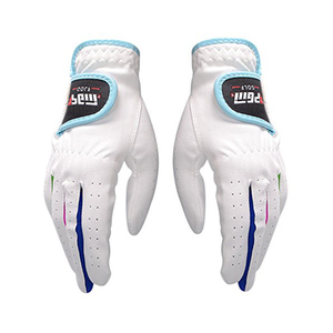 Youth Kid Children Golf Glove One Pair, Improved Grip System, Cool and Comfortable
