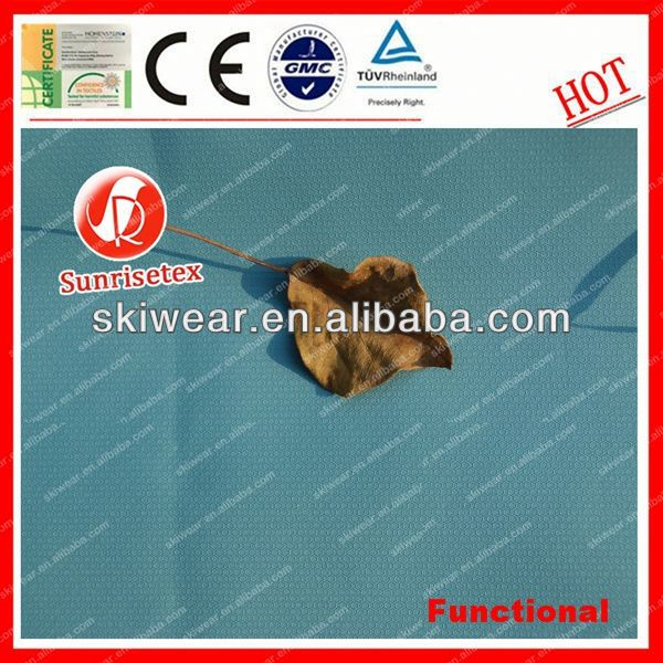 Functional Water Resistant poly dupion fabric