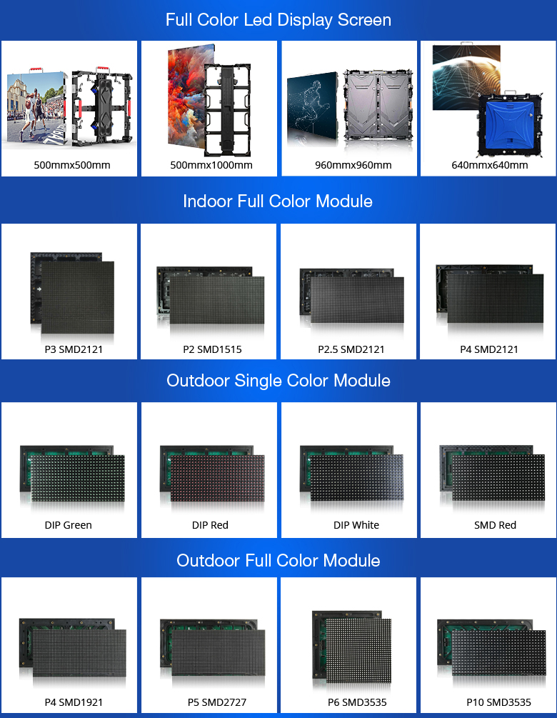 CE certificate indoor full color P5 smd3528 led screen