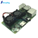Raspberry Pi 3 Model B+(Plus) Dual Fan Cooling System Module with Heatsink for Pi3 B+ / NESPi Case