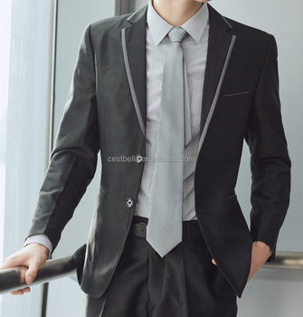 Latest Design Men Wedding Suits For Sales Elegant Bespoke Men Blazer 2018 Top Quality Men Suits ...