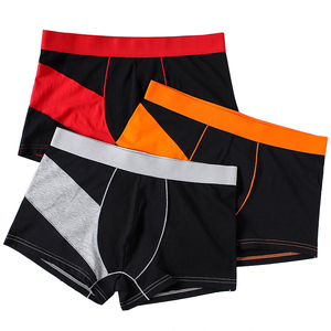 Hot selling printed pattern mens panties boxer briefs underwear manufacturers in china
