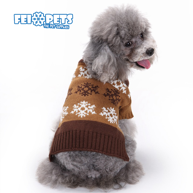 FX0159C Latest dog Christmas sweater stocked cheap sweaters for pet