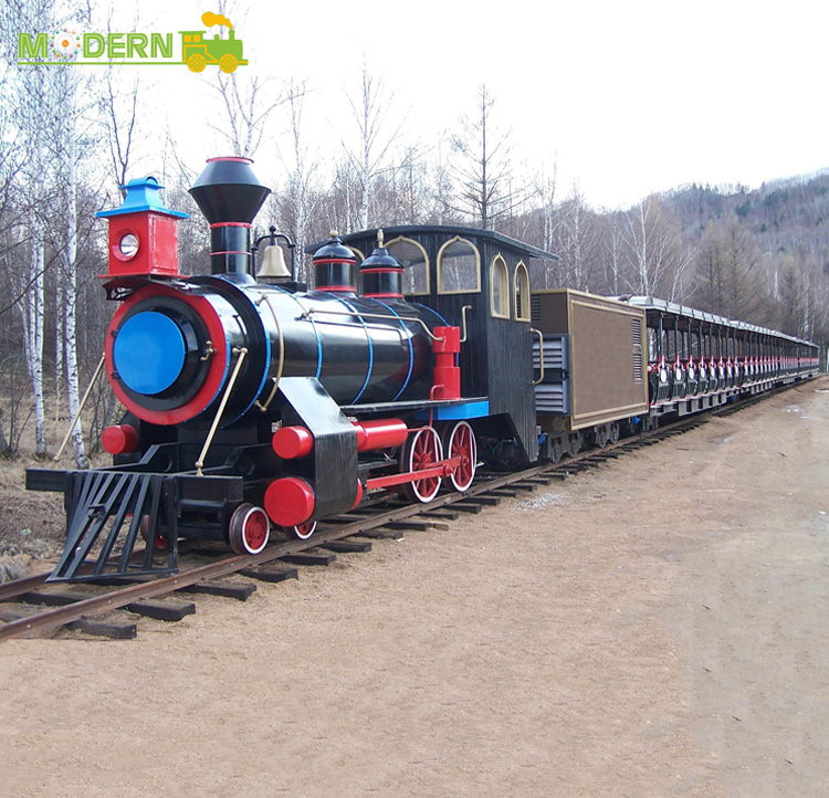 used amusement park trains riding track kiddie train for sale