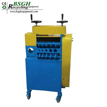 Automatic Cable Wire Stripper Machine / Automatic Scrap Copper Wire ...