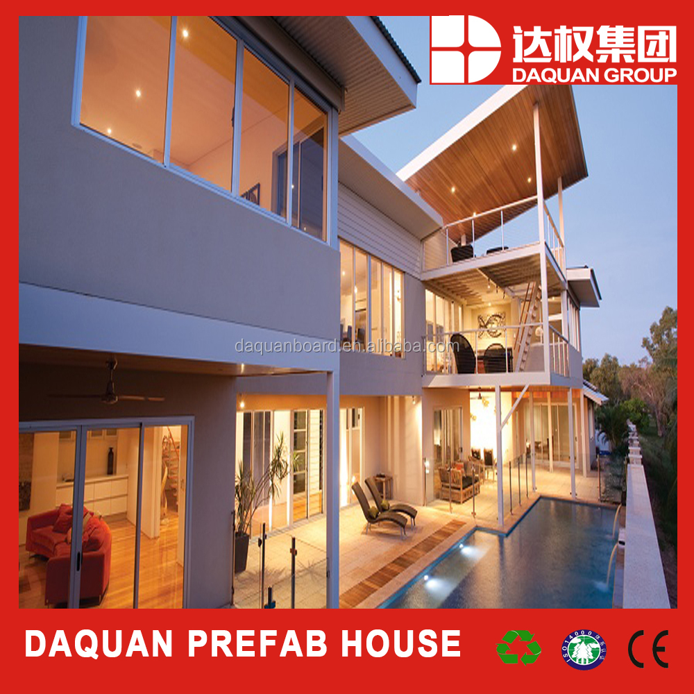 21st century new foam cement technology prefabricated house