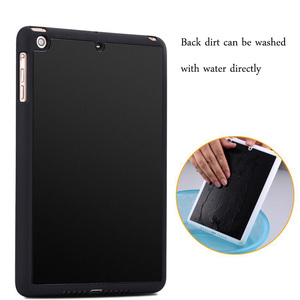 Factory good price anti gravity magical case selfie sticky absorb phone case for ipad pro 9.7inches