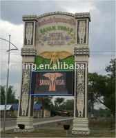 Advertising LED display billboard sign board signboard outdoor electronic TV panel