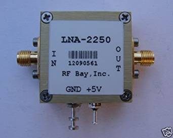 1650-2250MHz High IP3 LNA, NF=0.8dB, LNA-2250, New, SMA